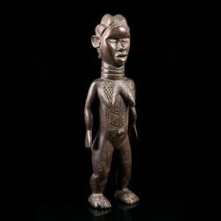 Lu Me female figure - Dan - Ivory Coast
