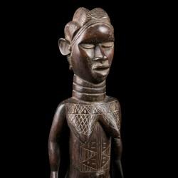 Lu Me female figure - Dan - Ivory Coast