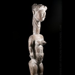 Large female statue...