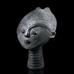 Nsodia funerary head - Akan Kwahu - Ghana