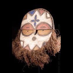 Masque tribal Kidumu - Teke...