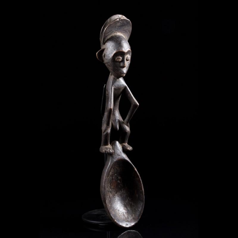 Anthropomorphic spoon - Mbole - Congo