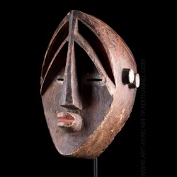 Mvondo Initiation Mask -...