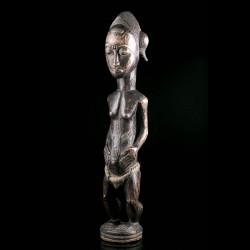 Statue Asie Usu Baoulé - VENDU