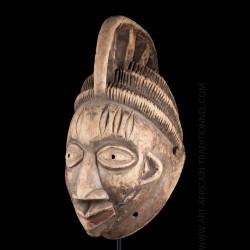 Tribal mask - Yoruba - Nigeria