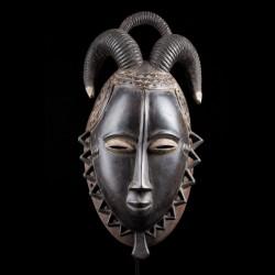 Facial ram mask - Baule / Yaoure - Ivory Coast