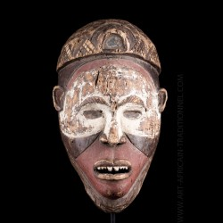 Masque Ngobudi Kongo Yombe...