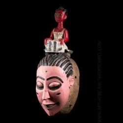 Seli Guro Baule mask