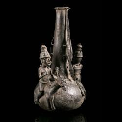 Supreme jar bronze Bini Edo...