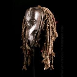 Chokwe Chikwekwe bird mask...
