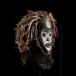 Masque féminin Mwana Pwo...