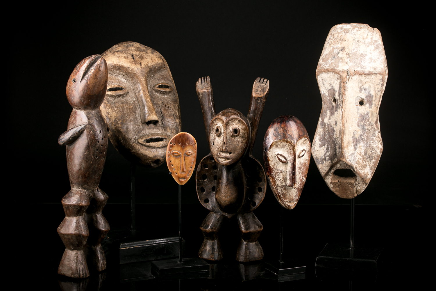 Dedicated Lega art special sale in our african arts gallery